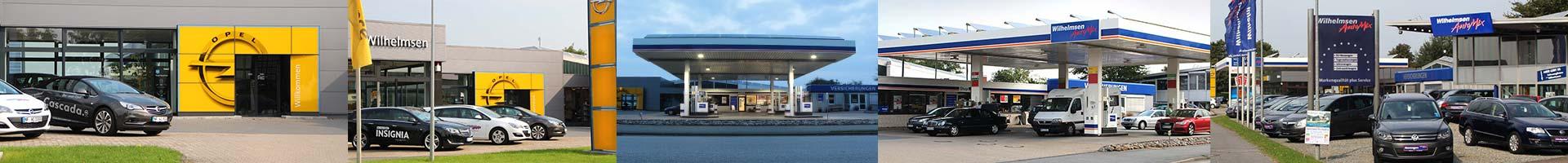 Wilhelmsen AutoMix - Opelhändler Tankstelle Gebrauchtwagen Versicherung Werkstatt