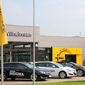 Wilhelmsen AutoMix - autoriseret Opel forhandler