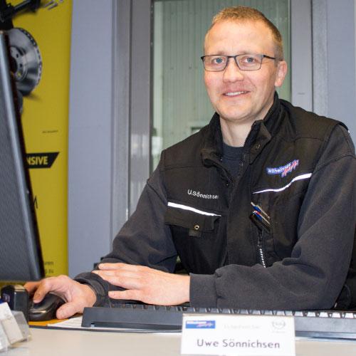 Serviceberater Uwe Sönnichsen