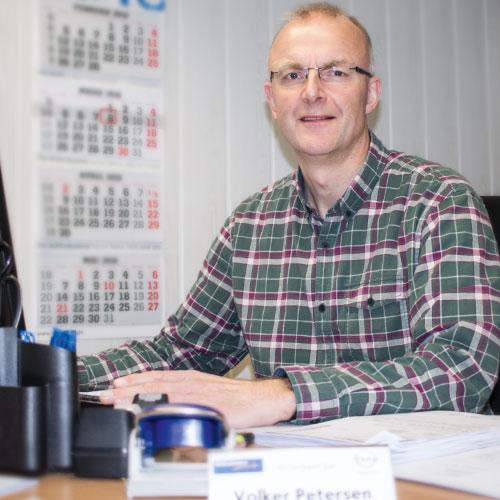 Volker-Petersen - Leiter der Versicherung und Urgestein bei Wilhelmsen AutoMix
