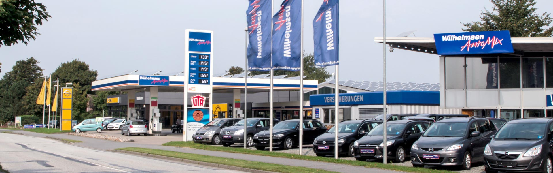 Wilhelmsen AutoMix in Enge-Sande an der B5