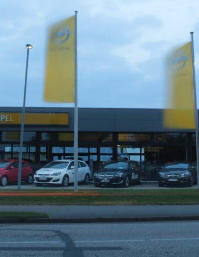 Opel Außengelände
