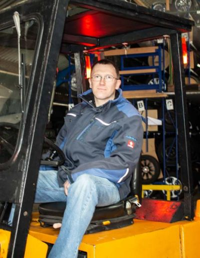Der Mann mit dem Überblick im Reifenhotel – Helge Tüchsen